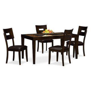 Cyprus 5 Pcdinette  Value City Furniture  Condo  Pinterest Fair Value City Kitchen Sets Inspiration Design