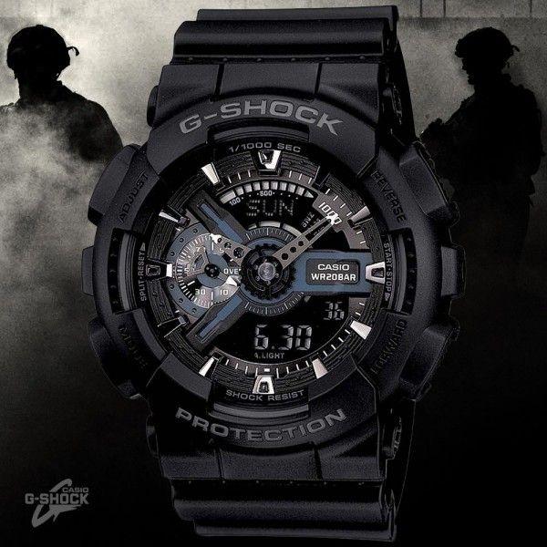Stealth Shock Casio ChronographsGa 1aer G 110mb 110 Military eCBxdo