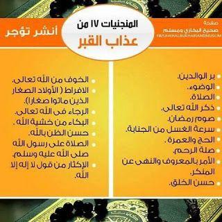 عيون مصر المنجيات من عذاب القبر Blog Posts Blog Quran