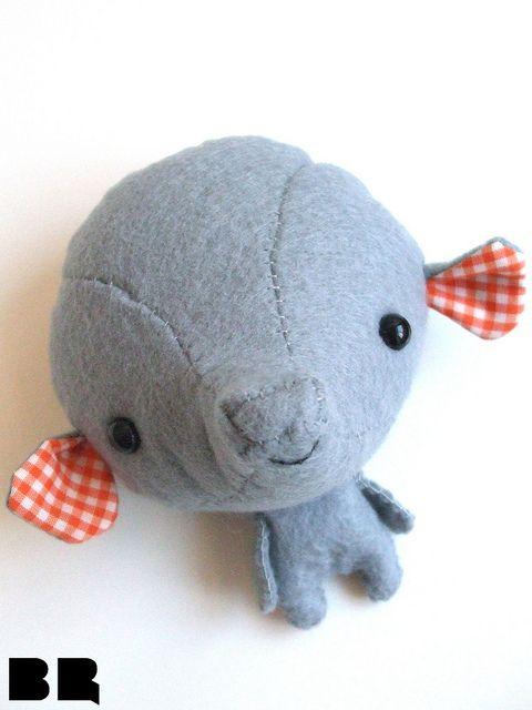 Kawaii elephant plushie