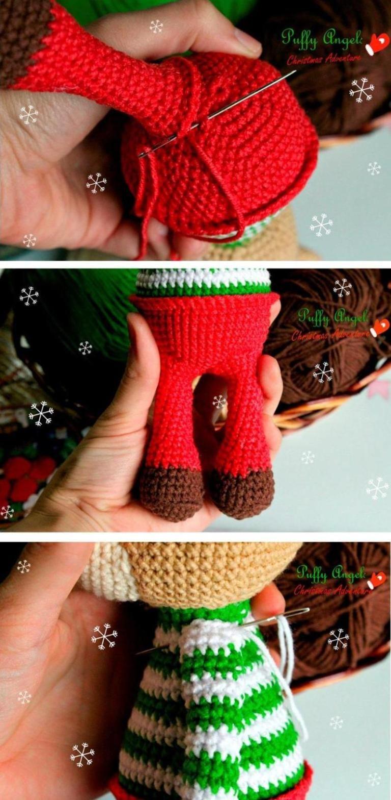 Amigurumi Mini Geyik Yapımı | Baby knitting patterns, Kroşe ... | 1568x768