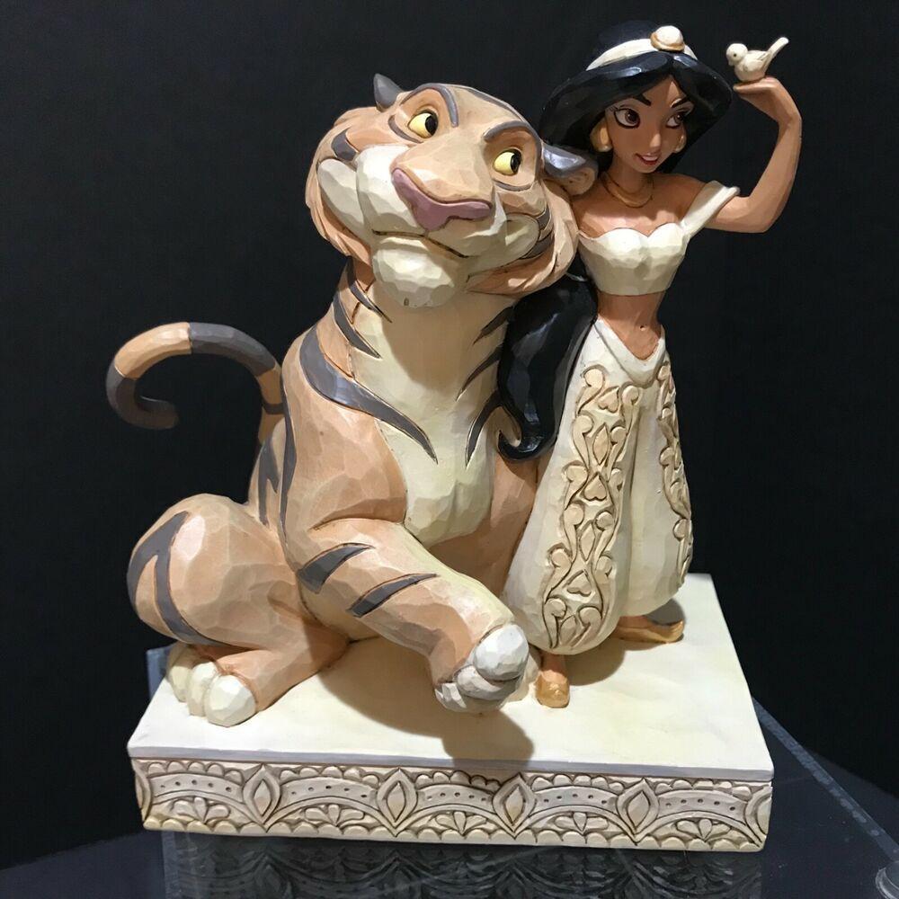 Disney Traditions 2019 Jim Shore Jasmine Rajah White Woodland