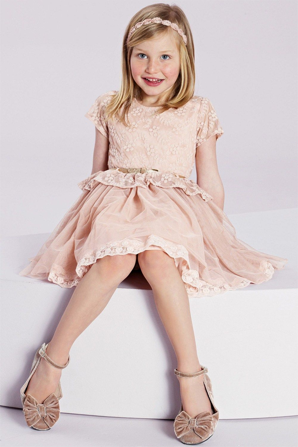 Girls dresses online 3 to 16 years next lace dress