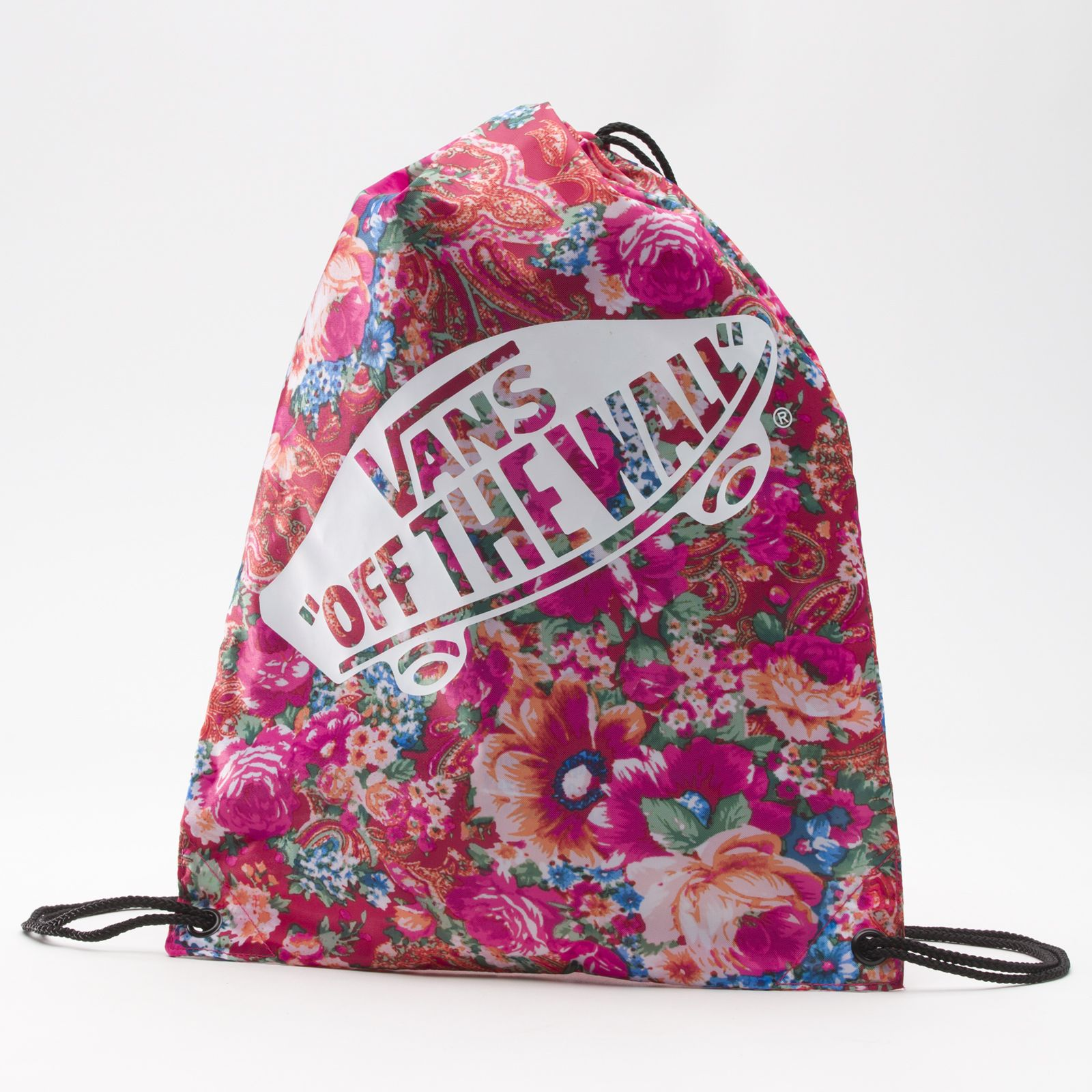 Vans Multi Floral Printed Benched Bag. cute drawstring bag to hold ...