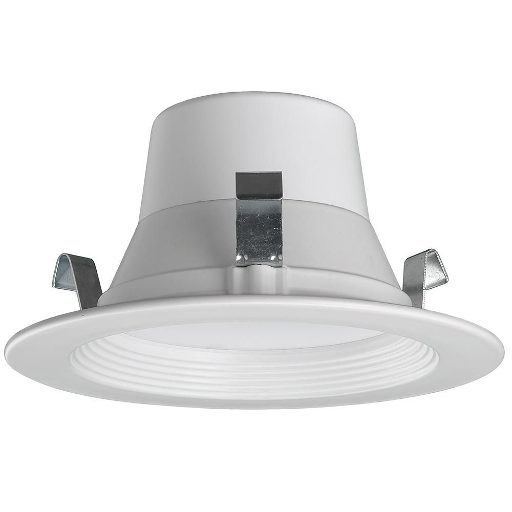 Commercial Electric Bluetooth 4 In Selectable Integrated Led Recessed Lighting All In One Kit 625 Lumens 2700k 4000k 5000k Dimmable 53166301 Led Recessed Lighting Recessed Lighting Kits Recessed Lighting Layout