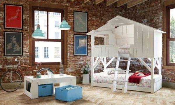 Kinder Etagenbett Haus : Wunderbar halbhochbett madchen fur kinder gutaussehend test