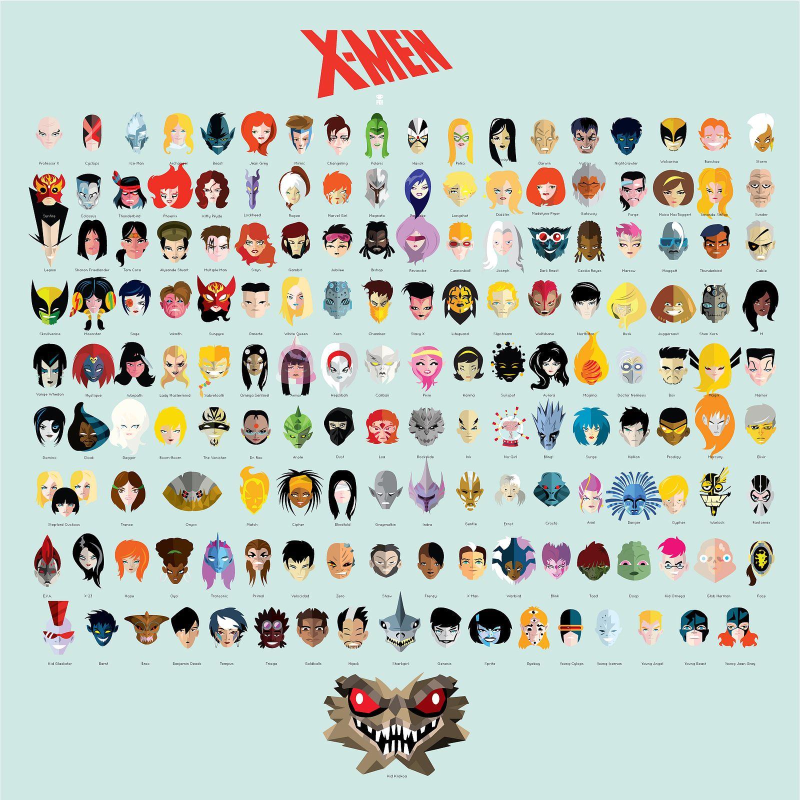 X Men And More X Men Xmen Characters X Men Marvel Superheroes