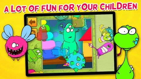 My Monsters Puzzle Game For Kids (0.99) A puzzle game