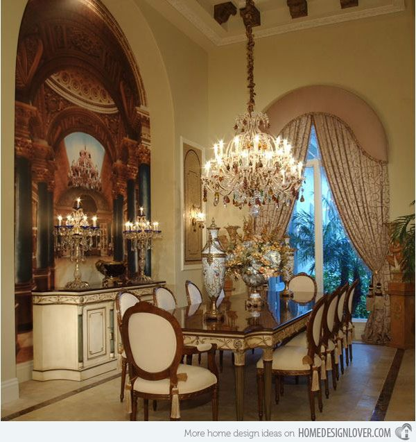 Awesome Traditional Dining Room Design Ideas: 20 Traditional Dining Room Designs