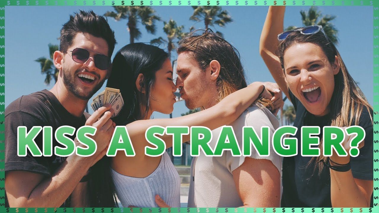 Kissing Strangers Challenge Do It For The Dough W Ayydubbs And