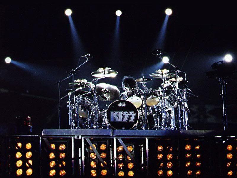Kiss Drummer Peter Criss 1970s