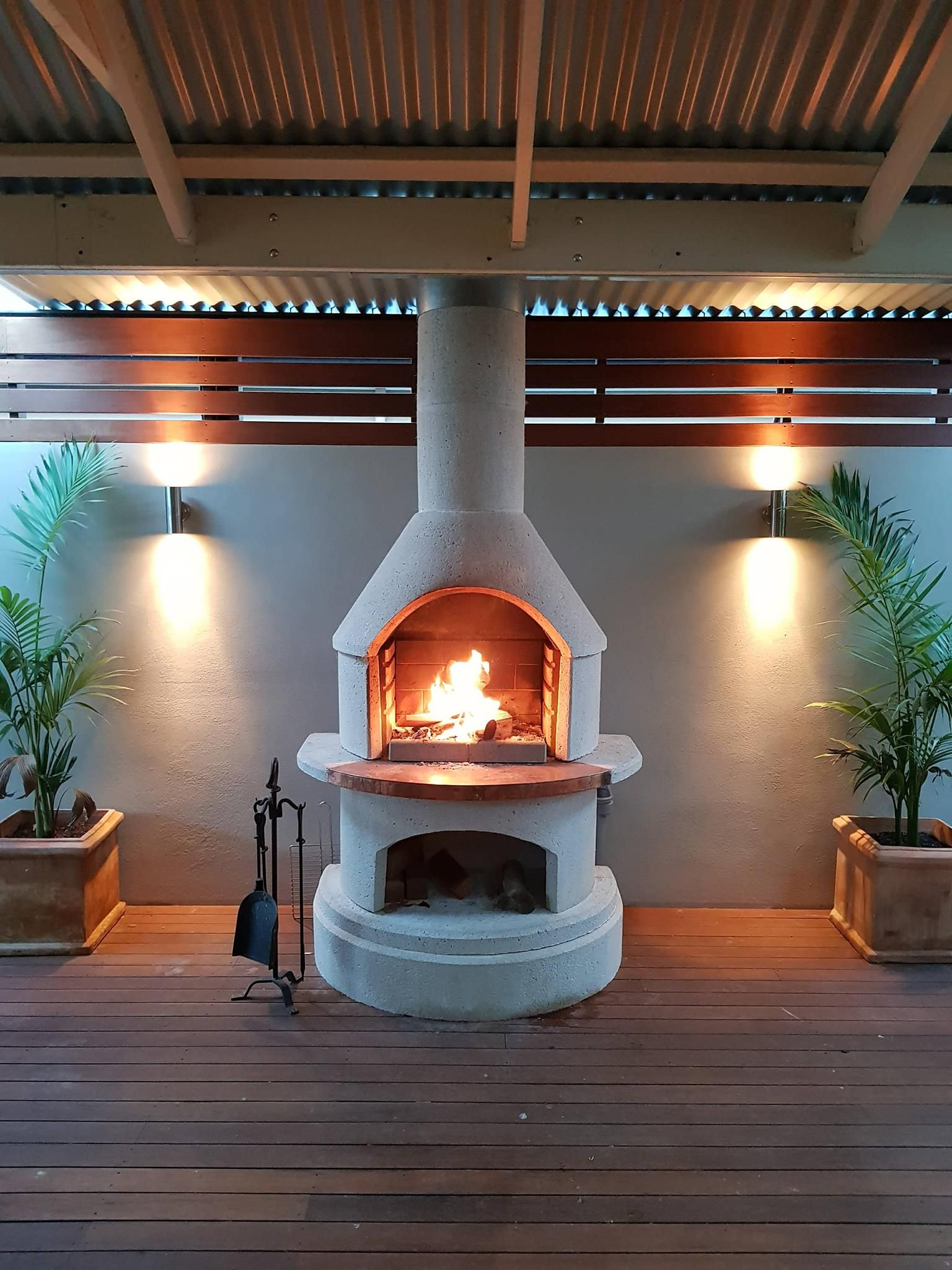 Pin by Kelsey Whitelaw on Lake house   Outdoor fireplace ...