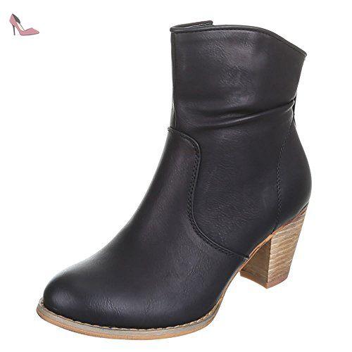 Boots Mq1769 Ankle Noir Ital Bottines Pour Design Femme q8RBPf