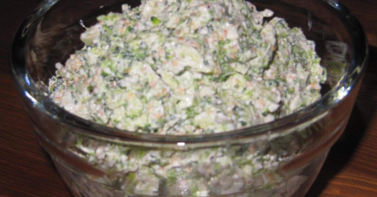 Brokkoli - Aufstrich - kalorienarm