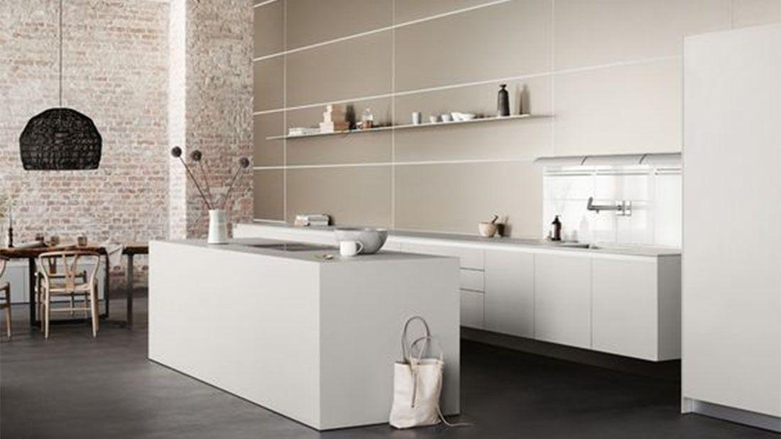 Keuken Design Moderne : Strakke moderne witte design keuken keuken design modern