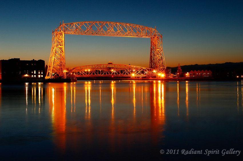 Duluth Lift Bridge...how I love you.