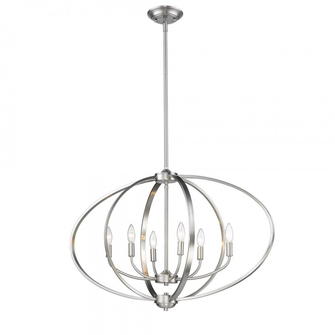 Colson Pw Linear Pendant In Pewter With Images