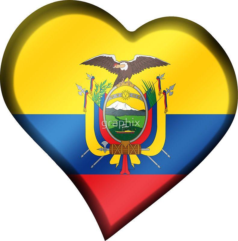 Ecuadorian Flag Ecuador Heart Me Myself And I Pinterest - Ecuador flags