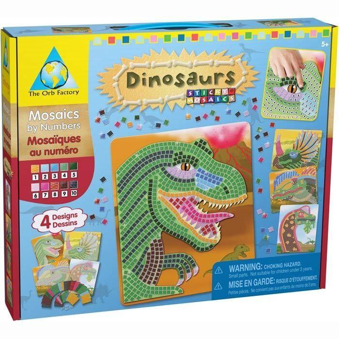 Orb Factory Sticky Mosaics Dinosaurs £12.79 Age 5 ...