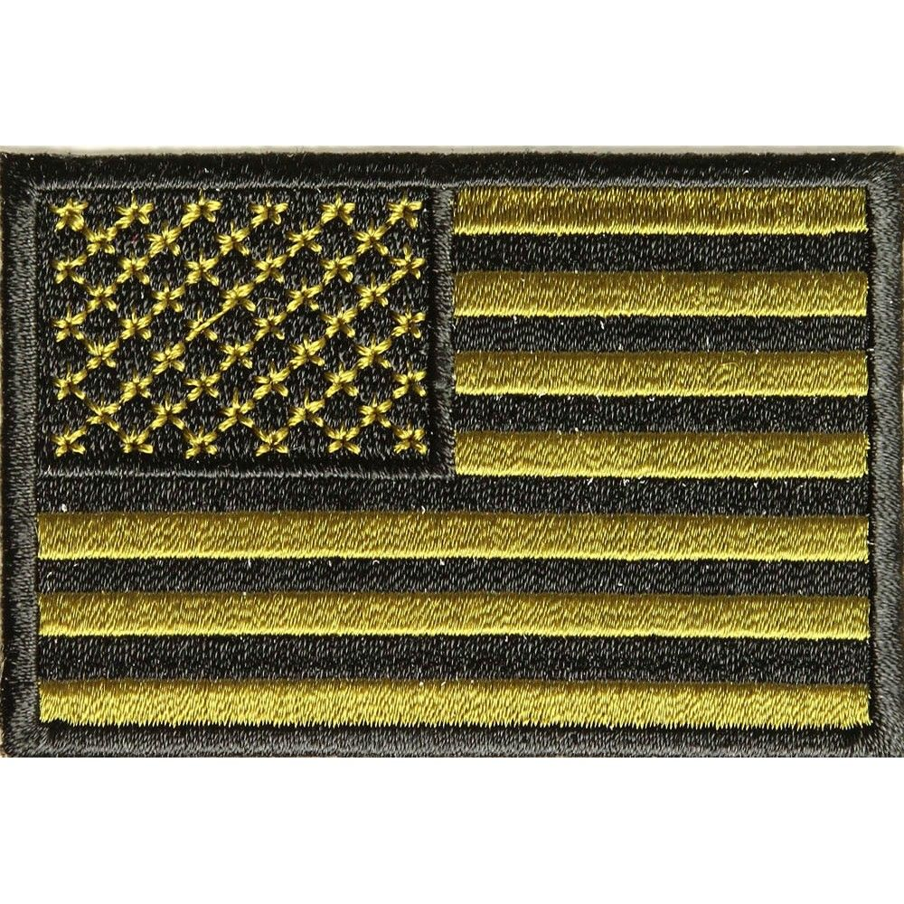 Subdued Green US Flag Patch | Flag Patches | Flag patches
