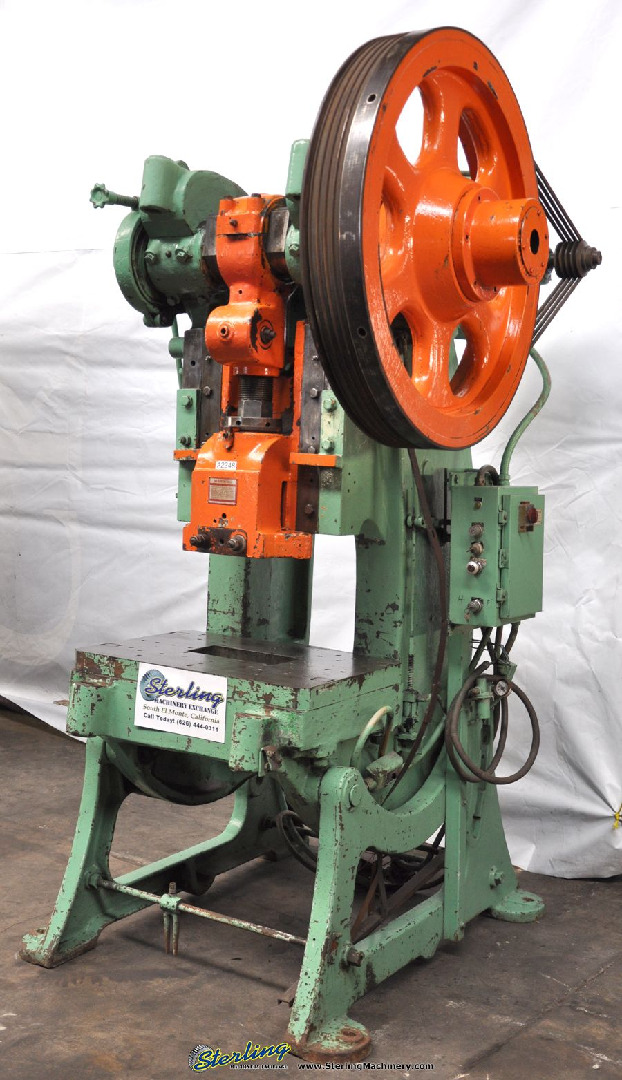 Punch Press 60 Ton X 3 Quot Used Bliss Obi Punch Press Mdl