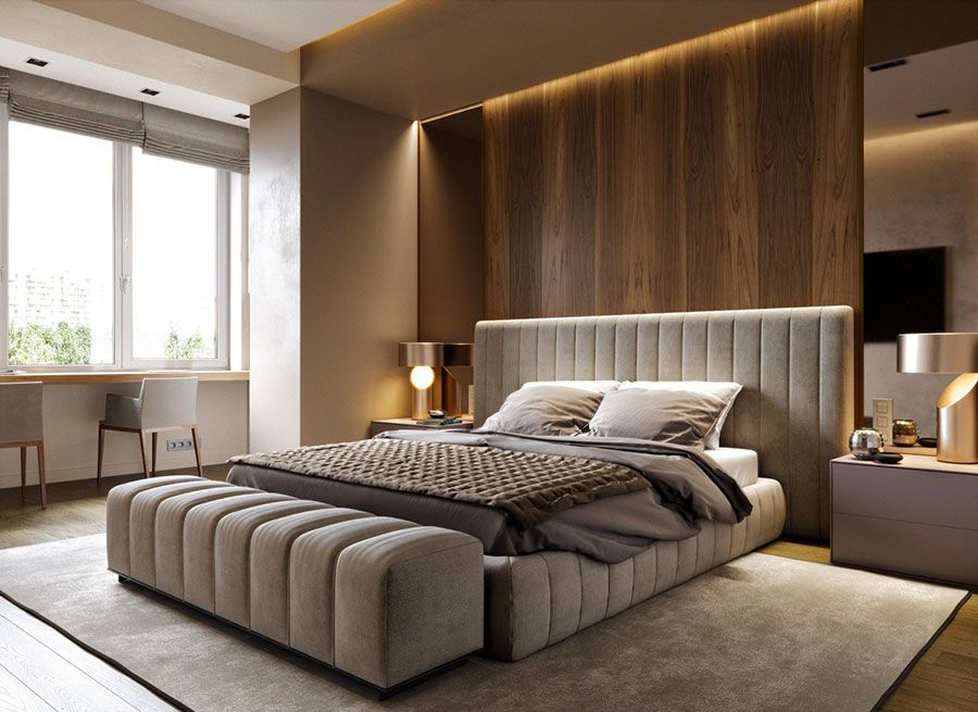 Visualizza altre idee su stanze da letto moderne, idee arredamento camera da letto, stanza da letto. Camere Da Letto Di Design 50 Favolose Idee Di Arredamento Mondodesign It Bedroom Furniture Design Bedroom Bed Design Master Bedroom Interior