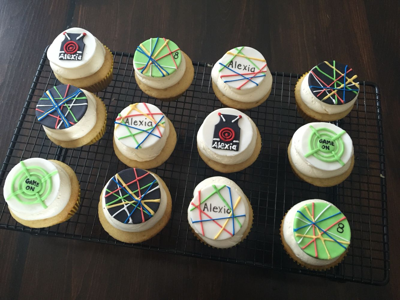 Laser Tag Cupcakes Party Ideas Laser