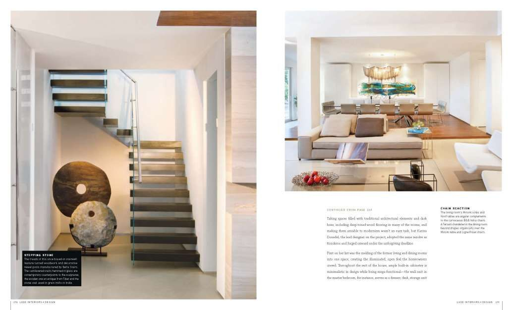 Luxe Magazine South Florida Edition Picks Dkor Interiors Modern Reception Area Interior Design House And