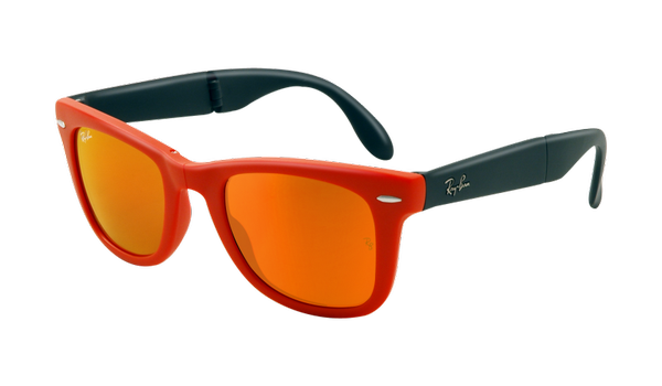 Ryban Sunglasses Fashion Look Orange Mirror Ray Bans Cool Sunglasses