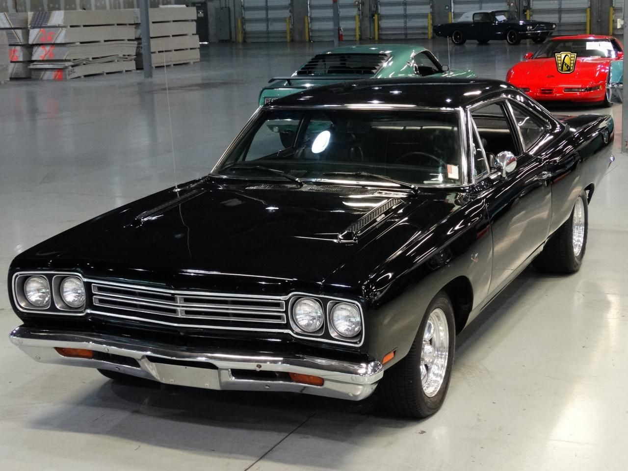 For sale in our Orlando, Florida showroom is a Black 2 Door 1969 ...