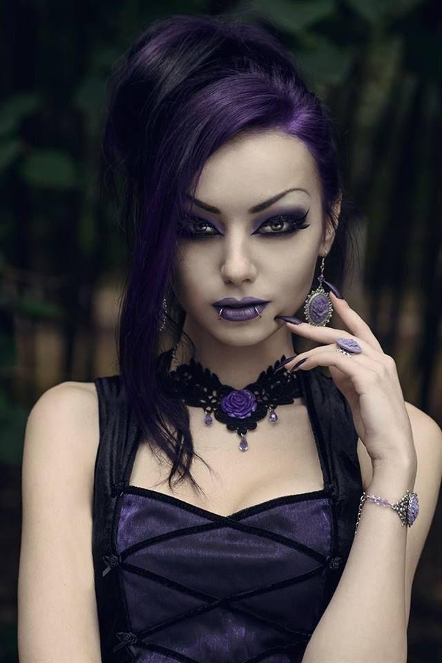 Model: Darya Goncharova * goth, goth girl, goth fashion, goth makeup, goth beaut #gothclothes