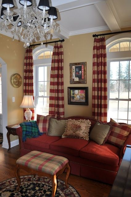 Red Living Room Design Ideas: Family Room Designs, Furniture And Decorating Ideas Http
