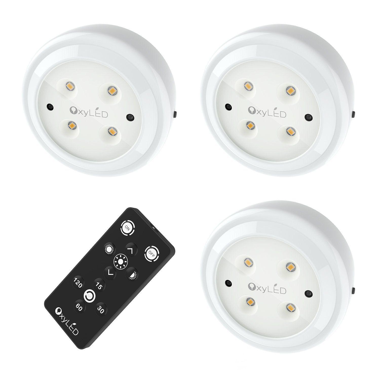 Wireless Led Puck Lights Oxyled Closet Light Cordless