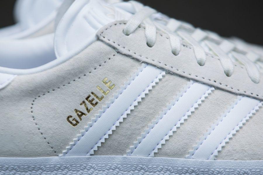 adidas - Gazelle (beige / white) - BB5475   Adidas, Sneaker stores ...