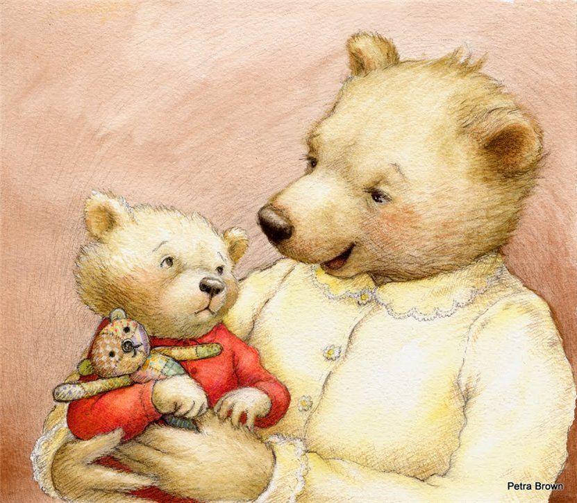 картинки с медвежатами добрые и милые рязанской области