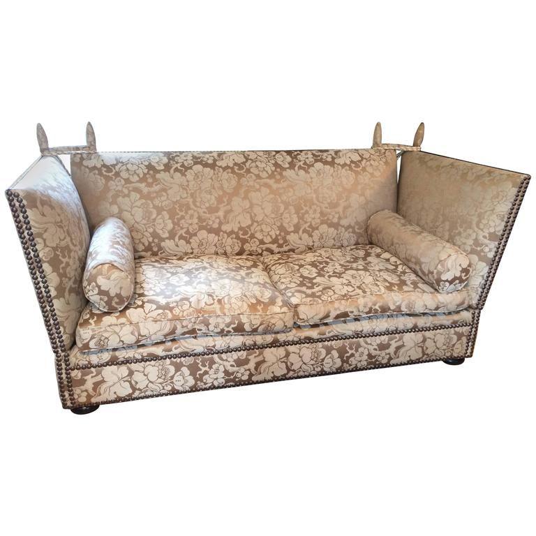 Sumptuous Oversized George Smith Knole Sofa