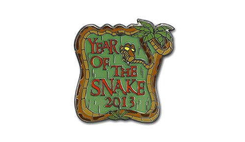 2013 Year of the Snake Pin SKU 400006879356 Edition Size 2000
