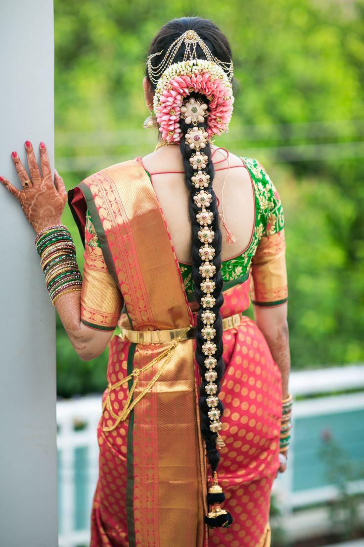 Gorgeous South Indian Wedding bridal Hairstyles 20.jpg 20×20 ...