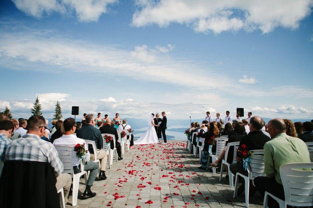 Schweitzer Mountain Sandpoint Id Wedding Photos Ceremony