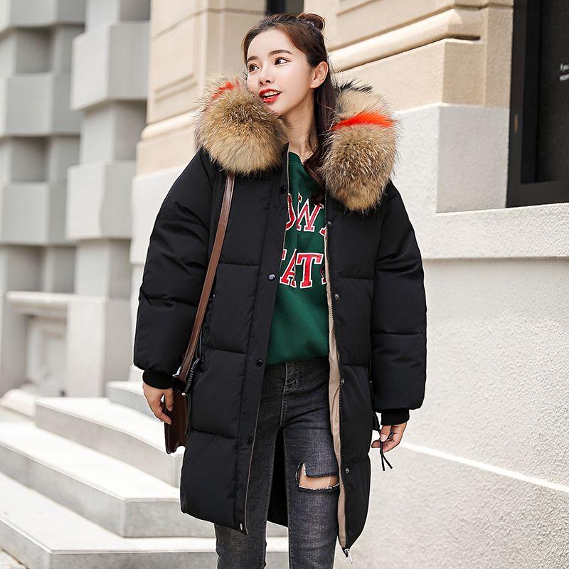 Cheap Parkas  KUYOMENS New style Winter Jacket Women Coats Artificial  collar Female Parka Thick Cotton Padded Lining Winter Coat Ladies M-XXXL ad76fcef9796