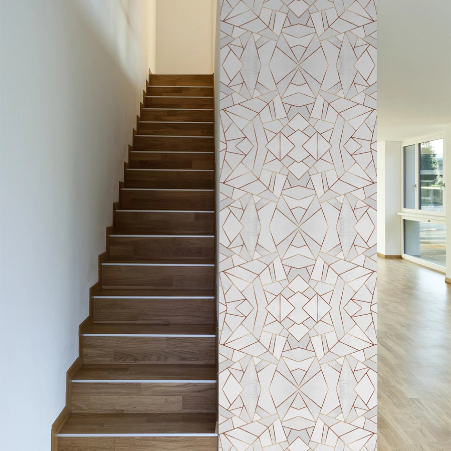 White Stone Wallpaper Accent Wall Removable Wallpaper Wall Wallpaper