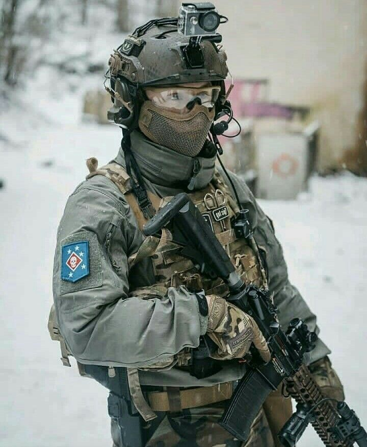 Airsoft Photography Modern Soldiers Special Forces