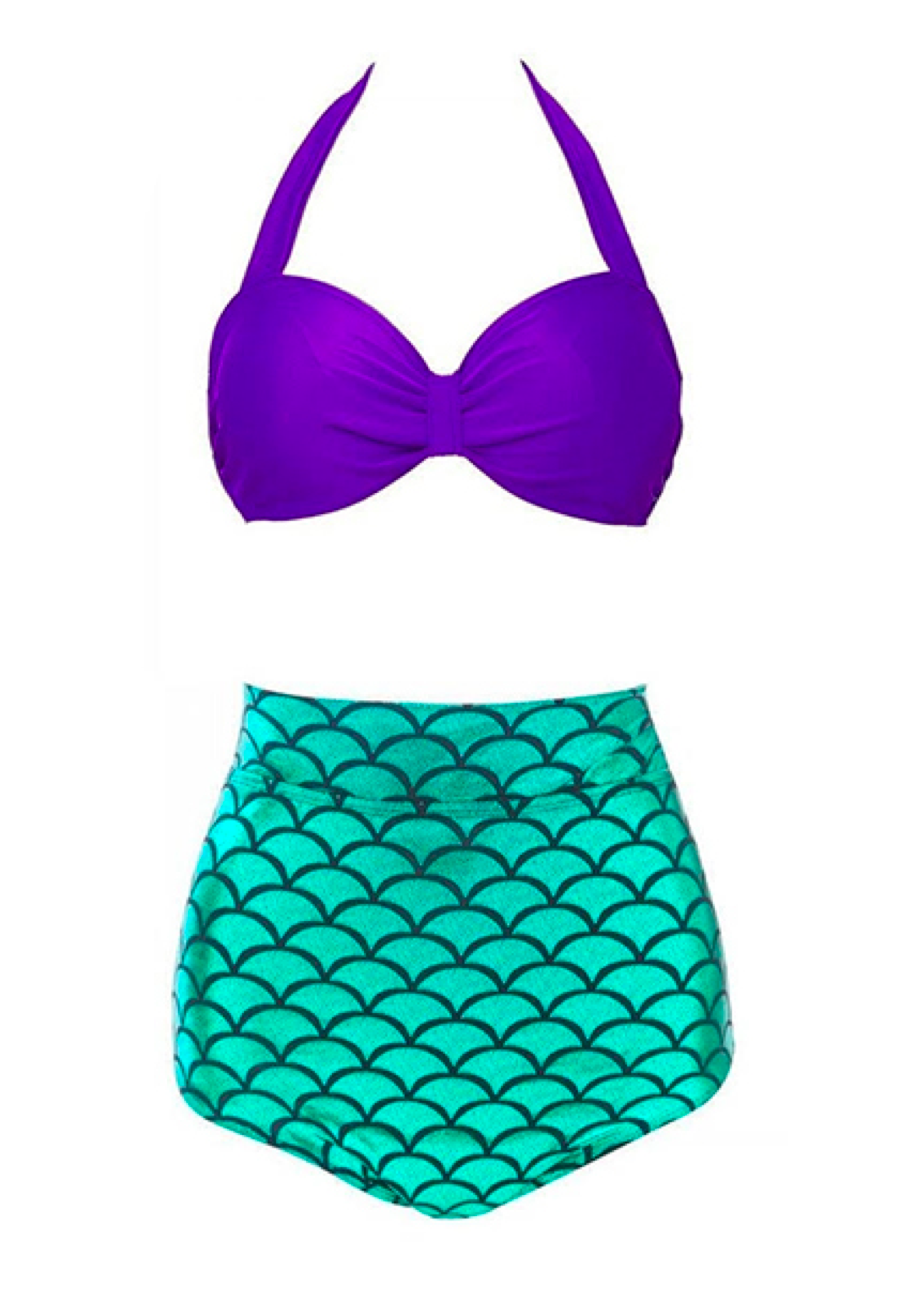 dd2022a6e Brighten up the beach with this fun two-piece suit