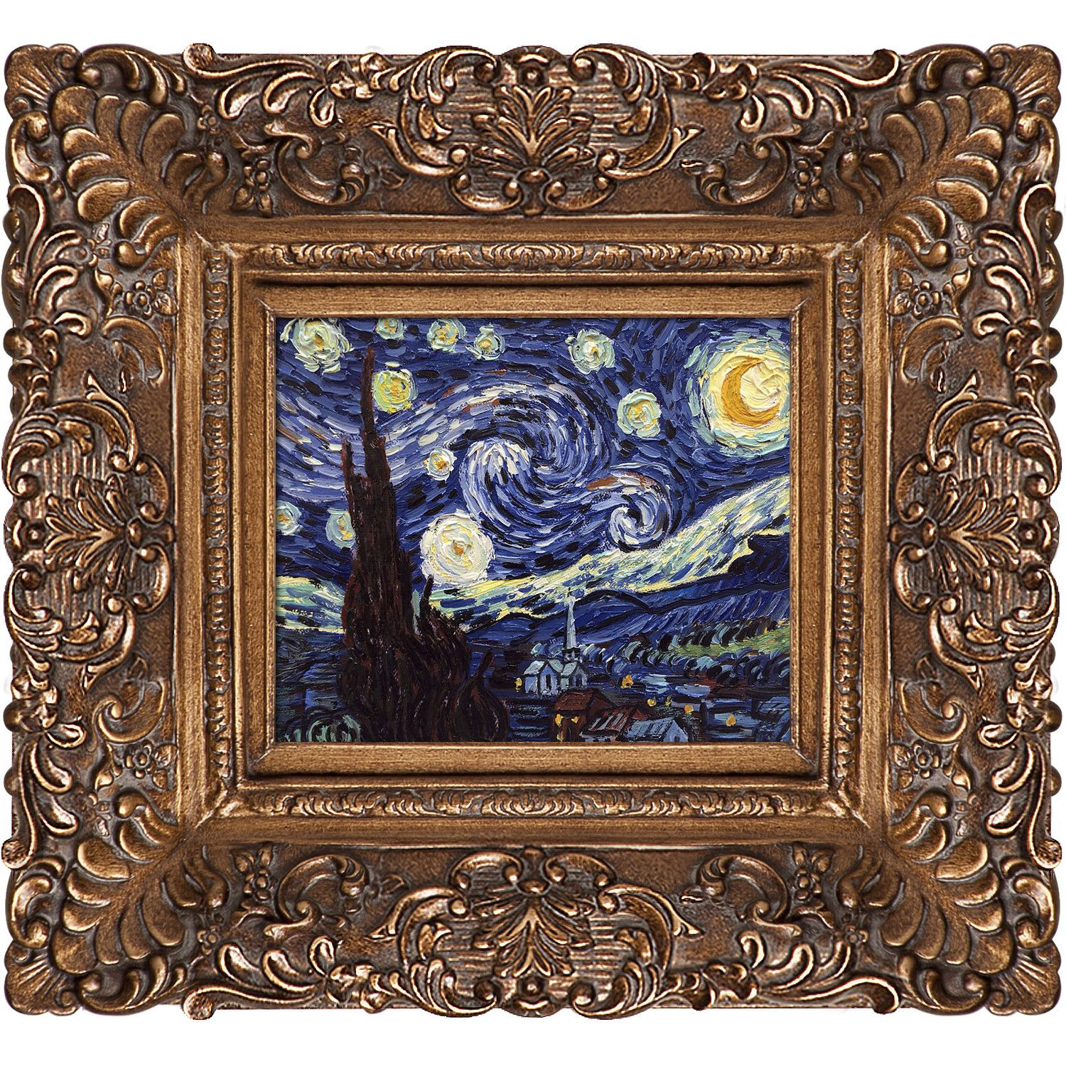Starry Night Van Gogh Framed Print | Frames | Pinterest