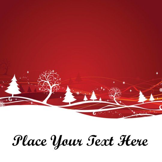 Red Forest Avery Template Designs For Christmas Christmas Lables