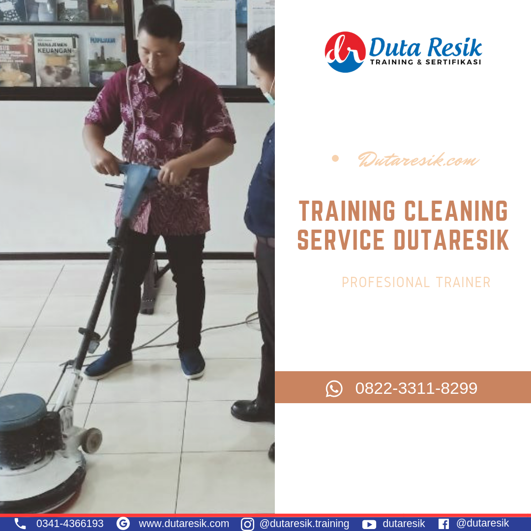 Training cleaning service rumah sakit, training cleaning