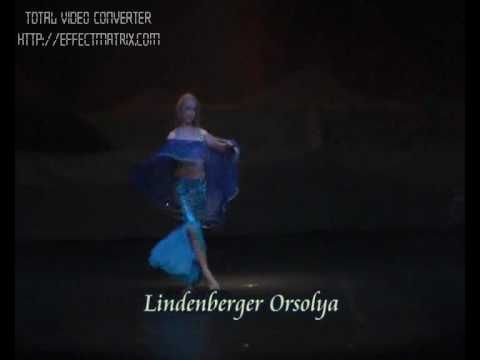 Lindenberger Orsolya - Belly dance - YouTube