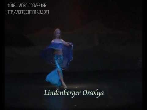 Lindenberger Orsolya - Belly dance - YouTube