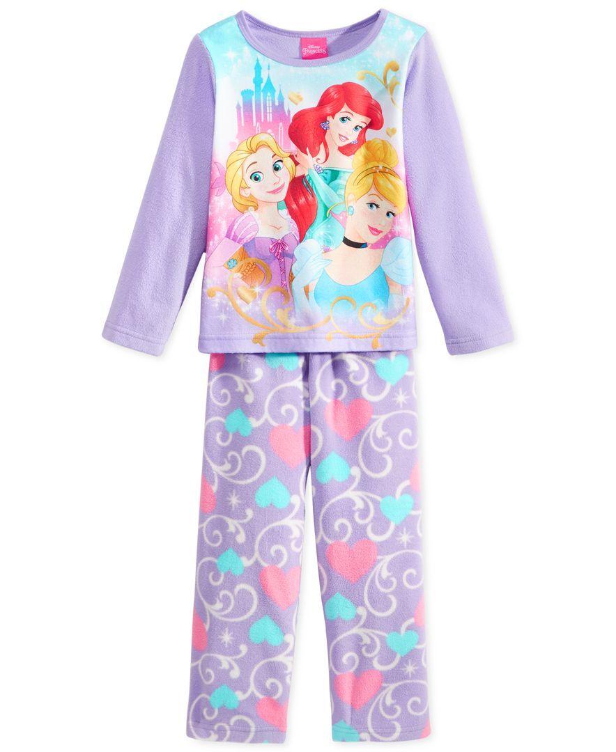 bca858d47a Disney Princess Toddler Girls  2-Piece Pajamas