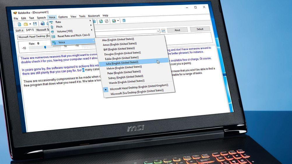 The best free text to speech software 2020 convert text